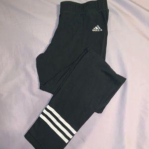Adidas Black striped legging